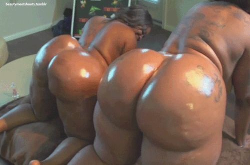 Wobblies-And-Puzzles Twerkingnaked 2 Thick Azz Black -3883