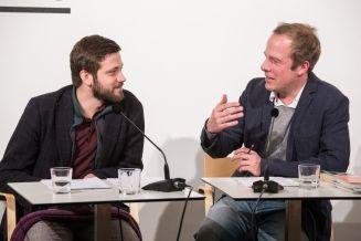 Die besten Lyrikdebüts 2016 am 23.2.2017 - Alexandru Bulucz und Tobias Lehmkuhl (c) gezett
