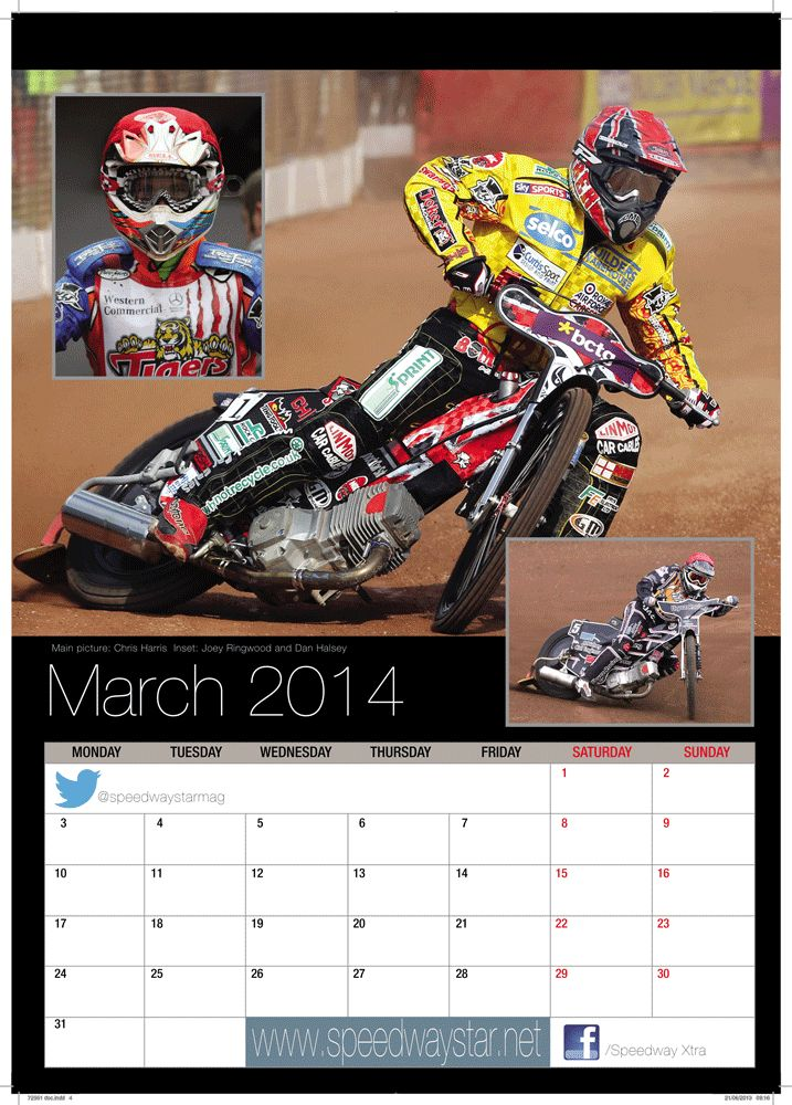 Main picture: Chris Harris  Inset: Joey Ringwood and Dan Halsey http://www.azimuthprint.co.uk/printing/wall-calendars/