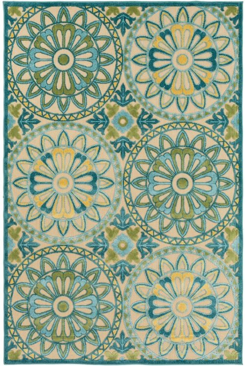 Inspired Design, Slightly Mediterranean Or Cuban Influenced, These New Area  Rugs From Surya Will