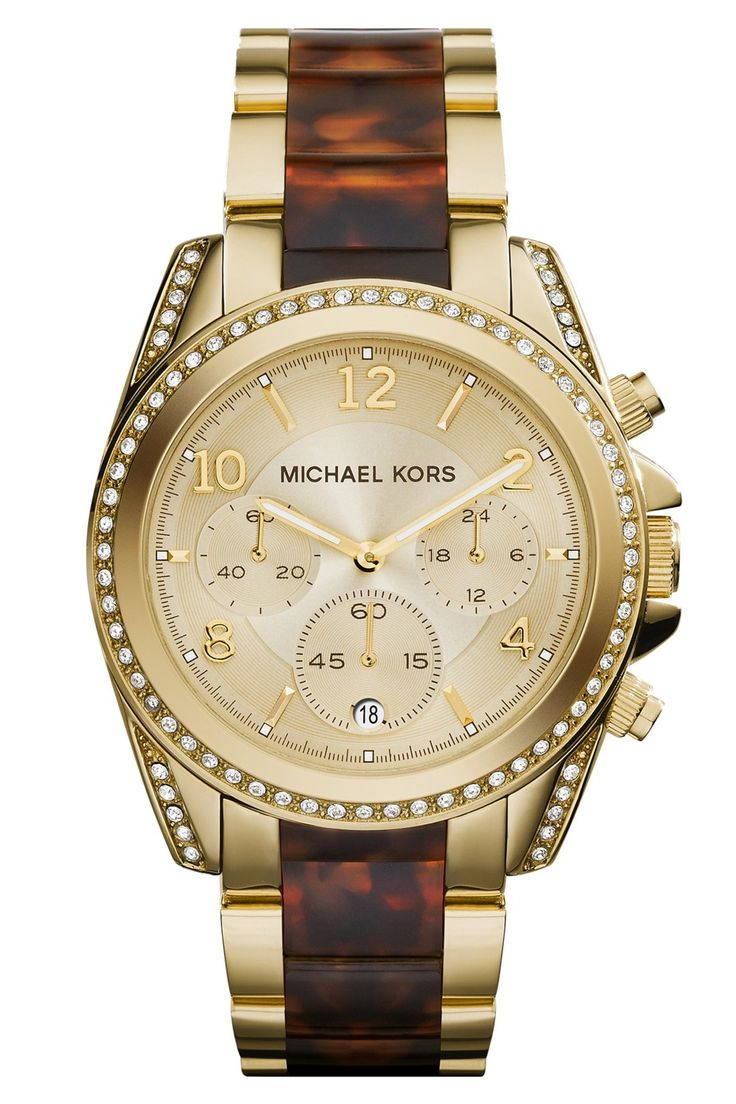 MICHAEL Michael Kors | Michael Kors \u0027Blair\u0027 Two-Tone Bracelet Watch, 39mm