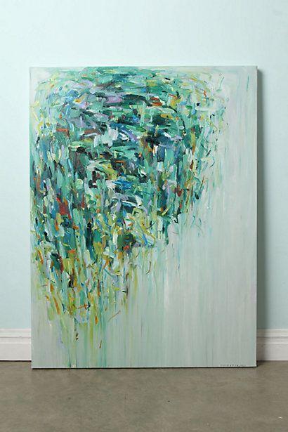 Rain Tree By Yangyang Pan #anthropologieModern Art, Beautiful Painting, Diy Art, Yangyang Pan, Art Ideas, Wedding Colors, Rain Trees, Abstract Paintings, Yangyangpan