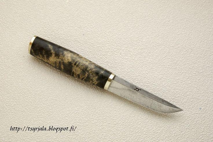Wootz blade Puukko | Puukot ja veitset - Tapio Syrjälä