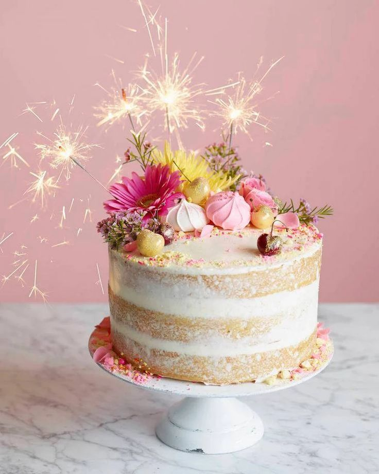 Картинки красивый торт на день рождения, богом