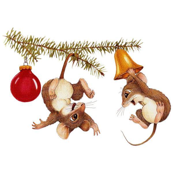 Гиф картинки новогодние мышки