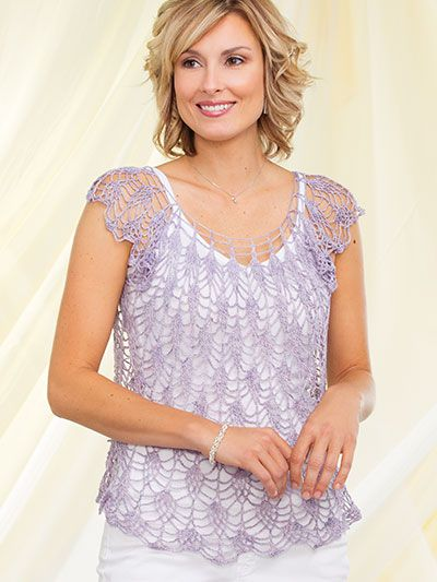 Instantly download this inspiring issue full of 26 crochet patterns that are perfect for warm summer days and cooler evenings. Dress to impress with sizzling summer crochet projects, including the beautiful Wisteria Tee featured on the cover. Tanks, ...