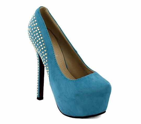 Zapato tacón Aguamarina 32€, avance de a nueva temporada primavera 2013 :)