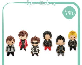 Kpop Polymer Clay 2PM Hands Up Cell Phone Charm – Kpop Collection