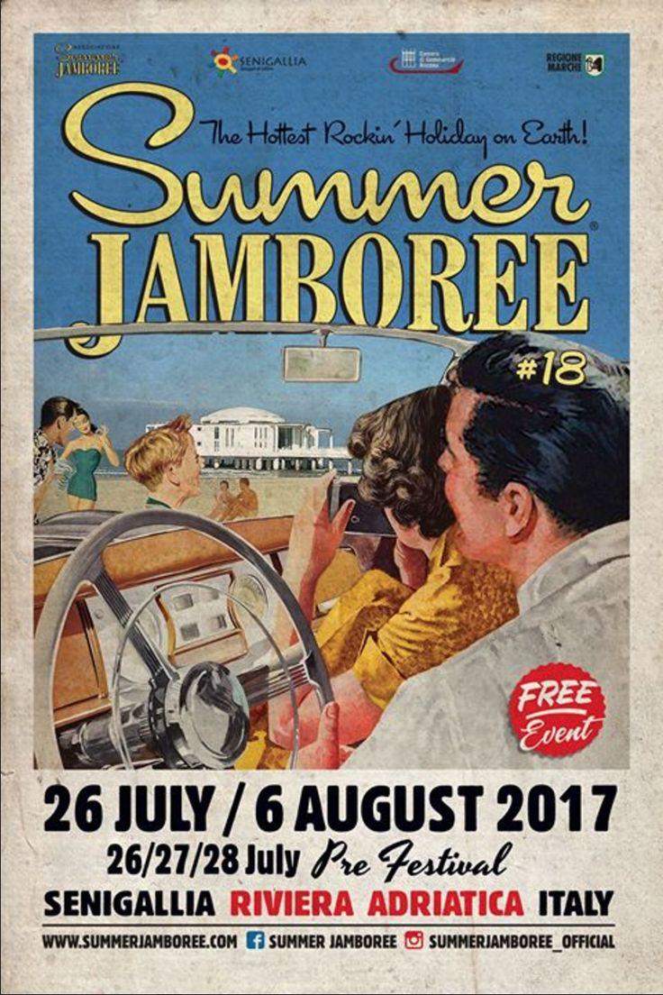 Summer_Jamboree#18 26 July / 6 august 2017 Senigallia. Italy.