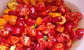 Papriky na zimu - Papryka na zimę