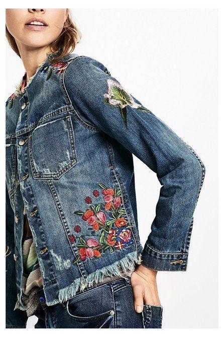 Women's denim jacket - Noucol | Desigual.com L