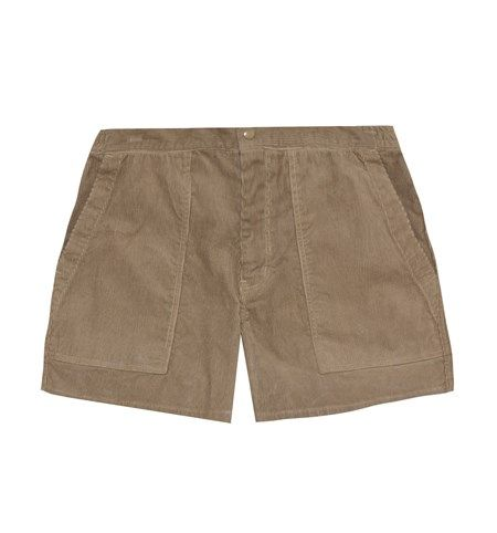 CORDUROY BUSH SHORTS
