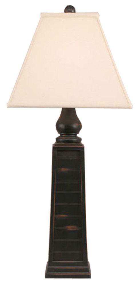 Pryamid Pot Table Lamp