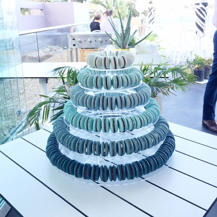 A mountain of macarons almost look like a modern day colourful Croquembouche and can be a great alternative to a traditional wedding cake