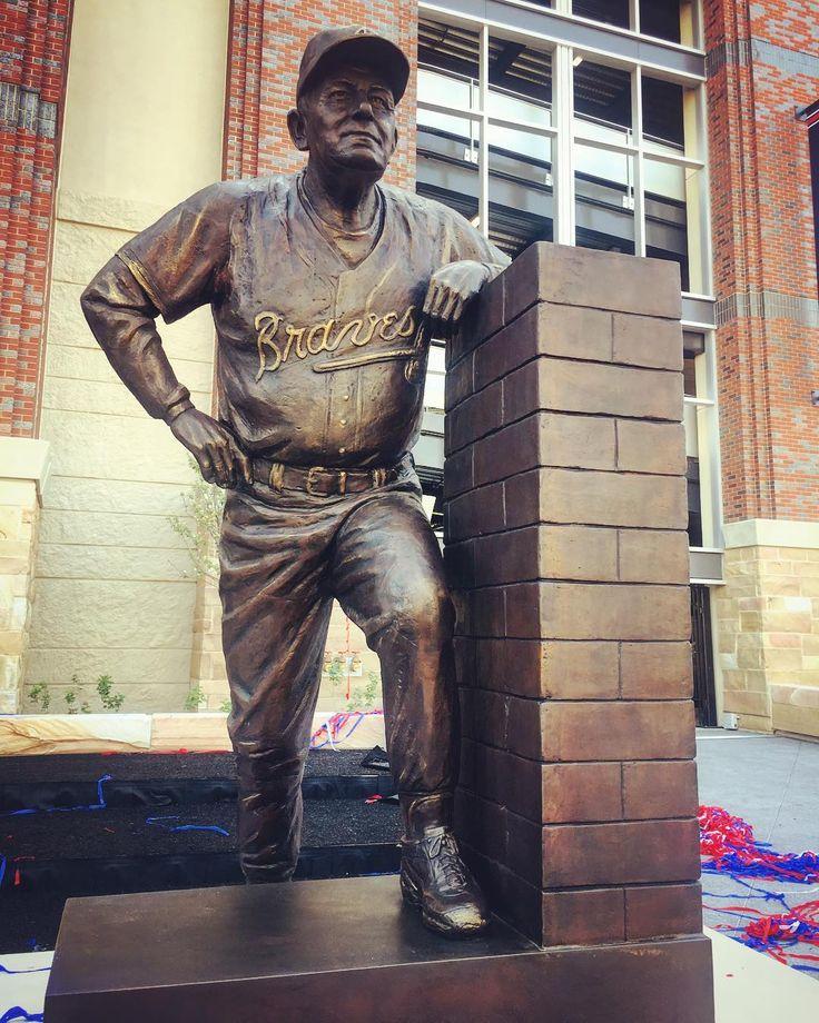 """16k Likes, 122 Comments - Atlanta Braves (@braves) on Instagram: """"Forever honored at SunTrust Park...Bobby Cox."""""""