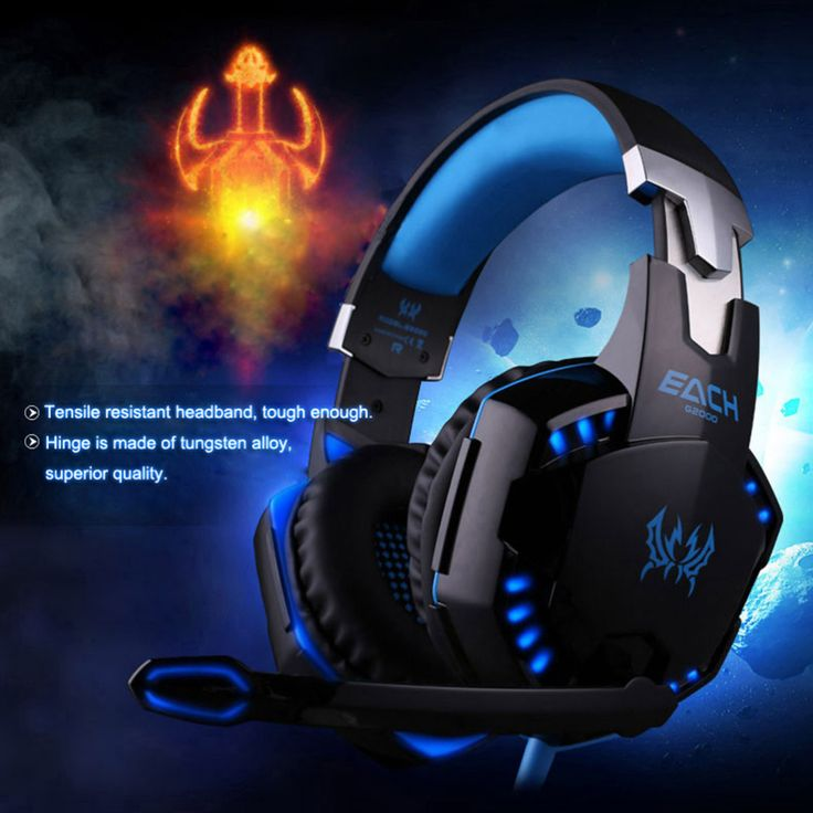 Cheap Earphones & Headphones, Buy Directly from China Suppliers: EACH G2000 Over-ear Gaming Headset Noise Cancelling Game Headband Headphone  Earphone with Mic Stereo Bass LED Lig