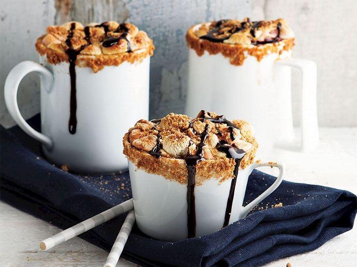 Marshmallowlu sıcak çikolata