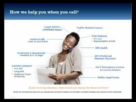 Legalshield Presentation 1