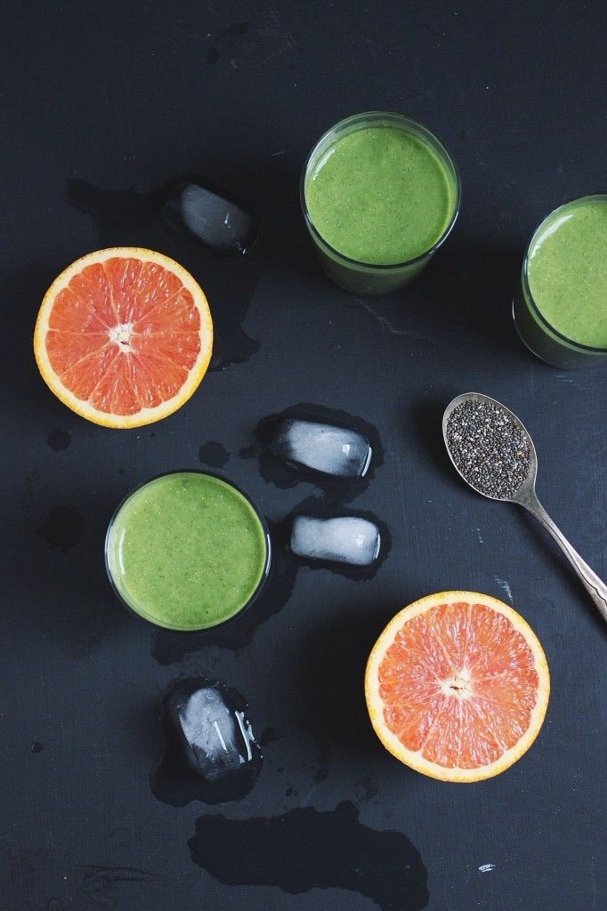Tropical Green Smoothie, take me away to paradise. | With Food + Love