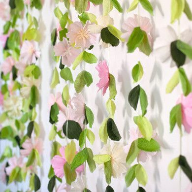 how to make flower garland at home