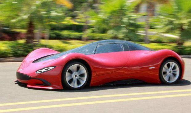 Épített magának egy szuper-sportkocsit -Chen Yinxi házi készítésű sportautója.