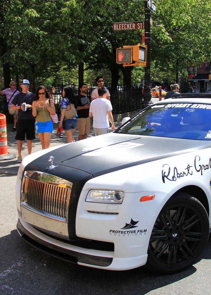 Rolls Royce Ghost Gold Rush Rally- ♔LadyLuxury ♔