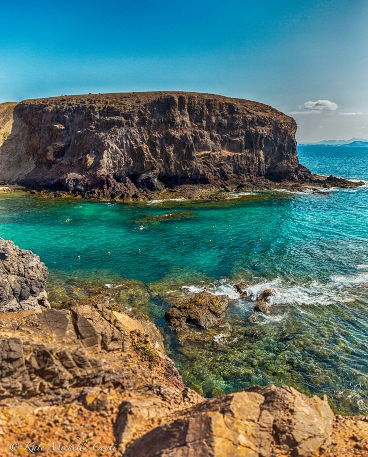 Playa Papagayo. Lanzarote, Canary Islands .  theitalianchica.com