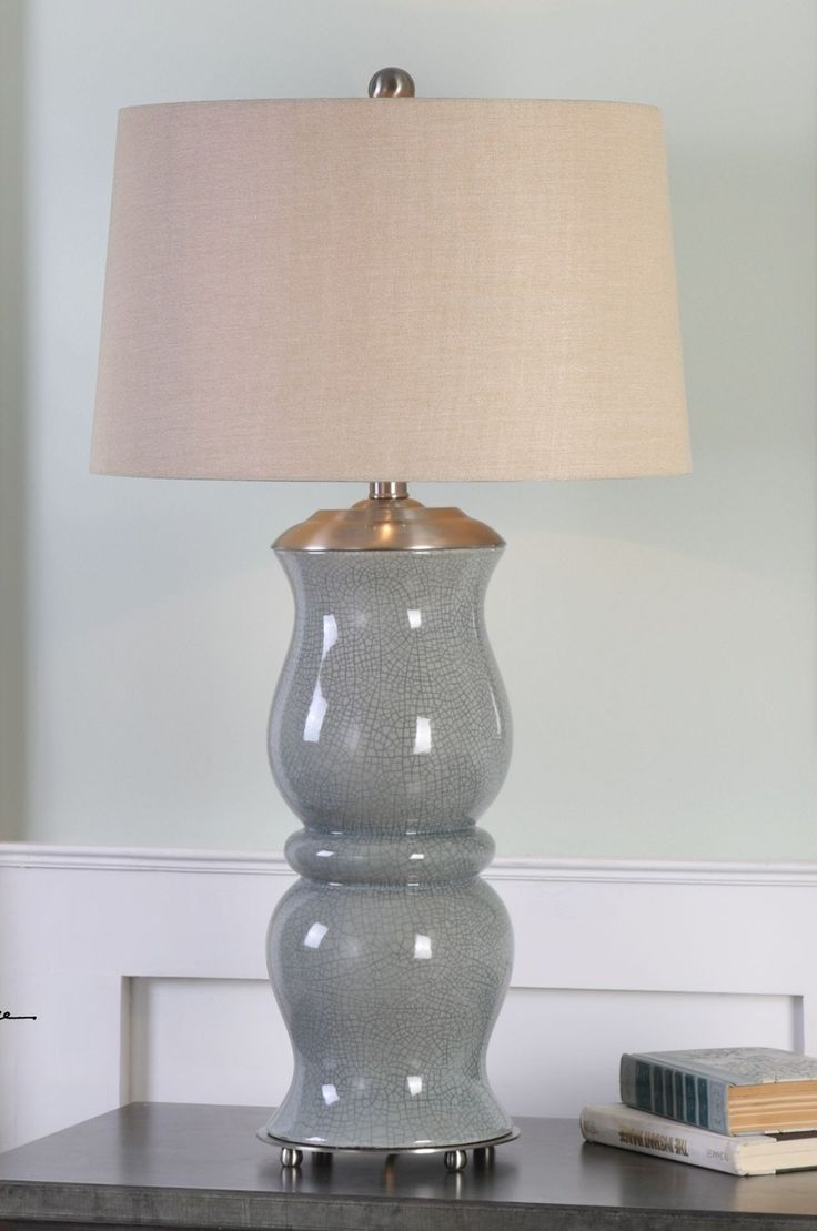 "FineHomeLamps.com - Cannobino Pale Blue Table Lamp by Uttermost - 36"", $349.80 (http://www.finehomelamps.com/cannobino-pale-blue-table-lamp_27162.html/)"