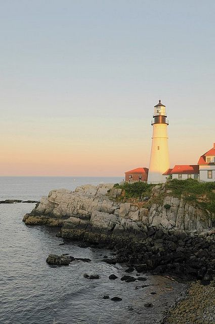 Portland, Maine #scenesofnewengland #soNE #soNElighthouse #soME #Maine #ME #lighthouse