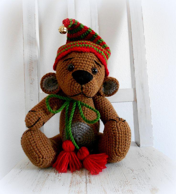 Háčkovaný medvídek ʕ•͡ᴥ•ʔ Háčkovaný medvídek na přání.. Pro více informací o dostupnosti mi prosím napište.