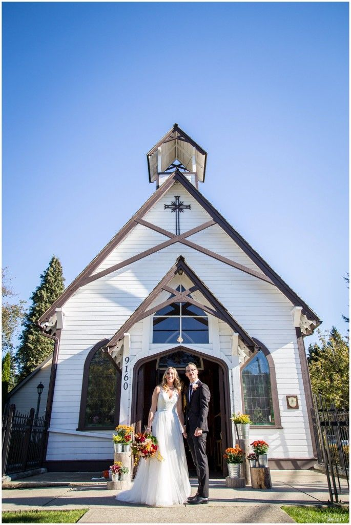 Fort Langley Wedding Photography in Church