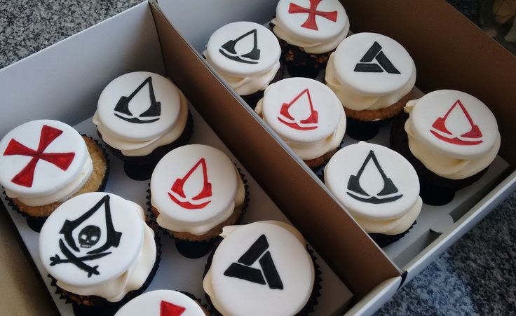 Assasins Creed Cupcakes