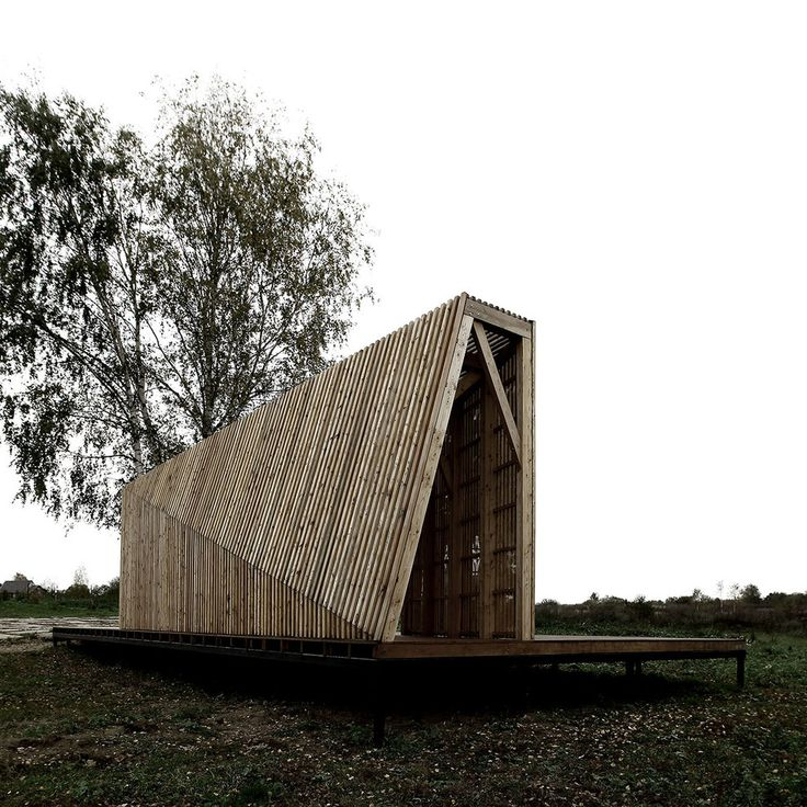 Fragments of architecture Summer House / Khachaturian Architects