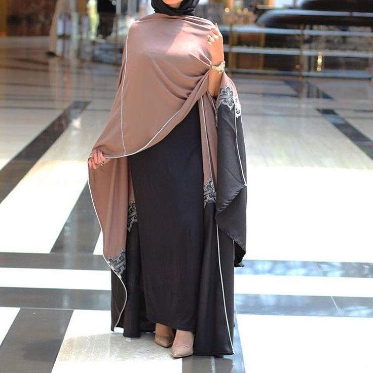 IG: Marmora_89 || Modern Abaya Fashion || IG: Beautiifulinblack