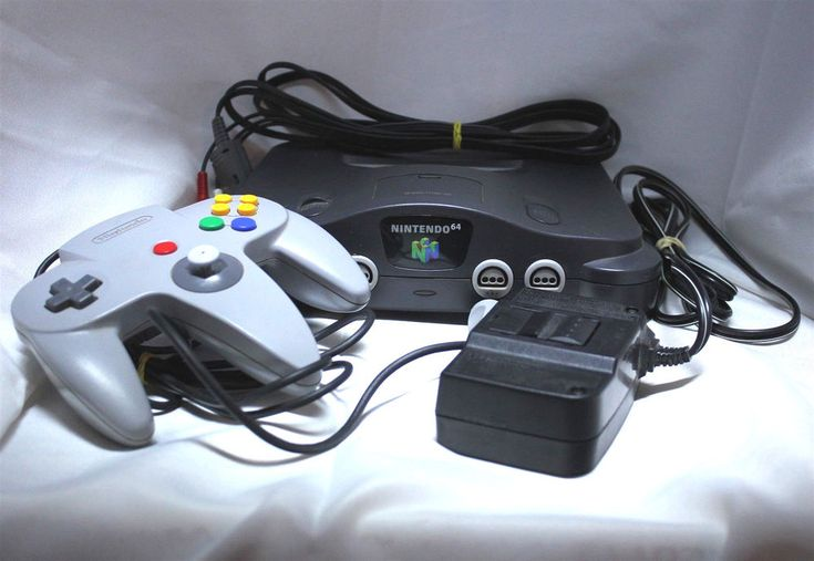 Nintendo 64 N64 Video Game Console System Tested Classic Retro #Nintendo