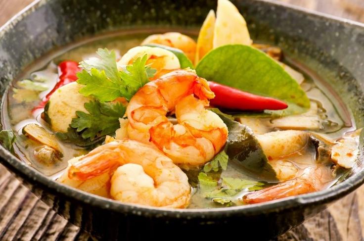 Sopa Tom yum (Tailandia)
