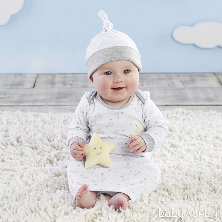 Lullaby 3 Piece Layette Gift Set Baby Layette Set Gender Neutral Baby Gifts Baby Aspen