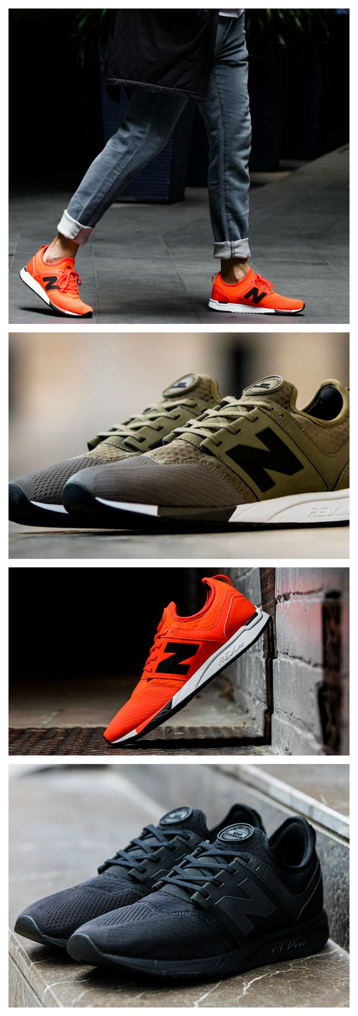 All day comfort and style combine to bring you the New Balance 247 'Sport.' Available now.