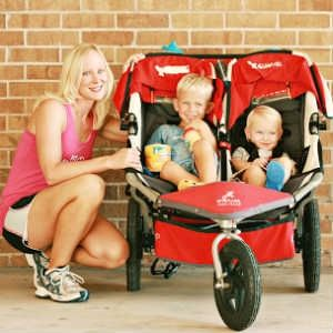 Double #jogging strollers to suit athletic people