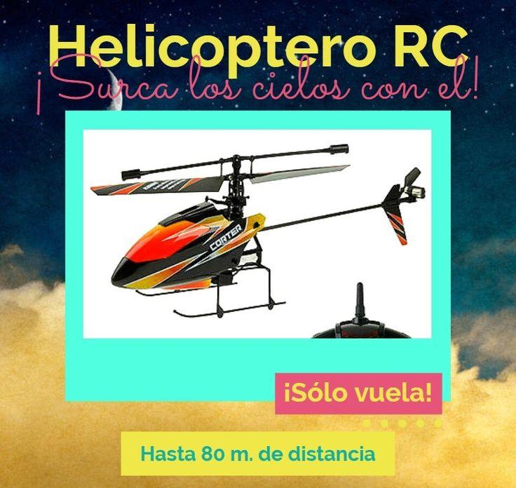 Helicóptero de radio control.