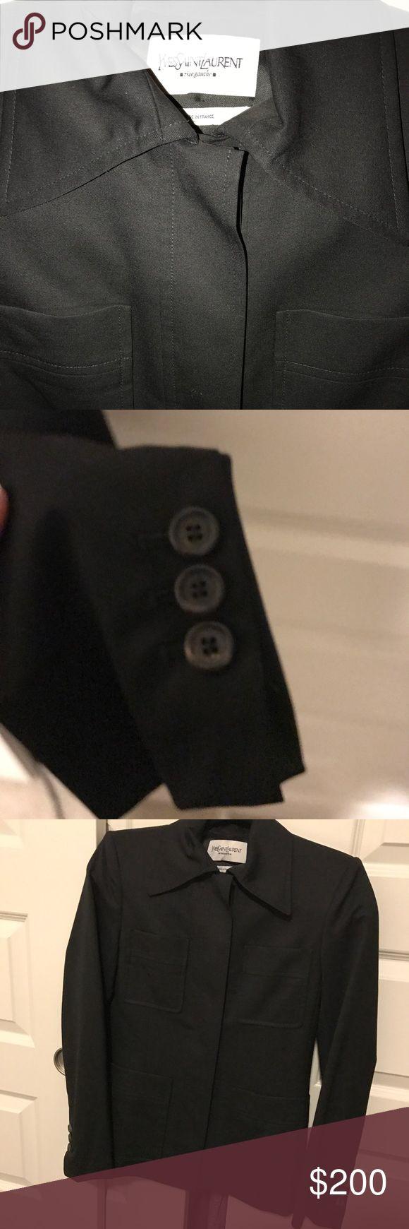 YSL Safari blazer Authentic YSL suit jacket Yves Saint Laurent Jackets & Coats Blazers
