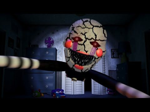 Nightmare Puppet Jumpscare?! (FNAF4) - YouTube