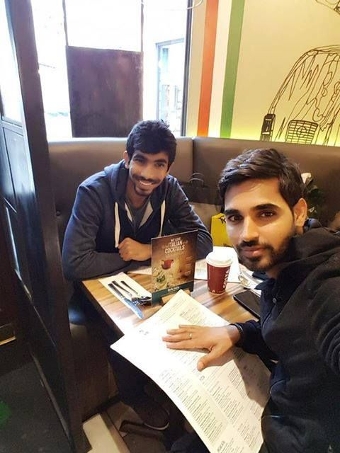 Jasprit Bumrah & Bhuvneshwar Kumar spend their day out in London For more cricket fun click: http://ift.tt/2gY9BIZ - http://ift.tt/1ZZ3e4d