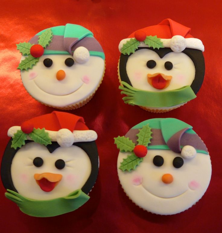 Nice, fairly simple cupcakes for xmas Gallery @ Buttercup Tea & Cakes of Northamptonshire