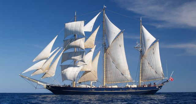 STS Leeuwin II is Western Australia's own Tall Ship, a 3-masted barquentine with over 810 square metres of sail and an overall length of 55 metres. Launched in 1986, STS Leeuwin II is Australia's largest sail training tall ship.