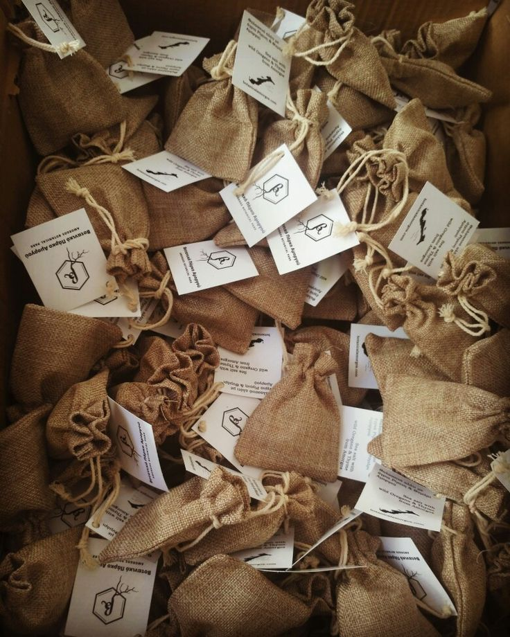 Sea salt with herbs #pouches #linen #seasalt #packaging #gifts #amorgos