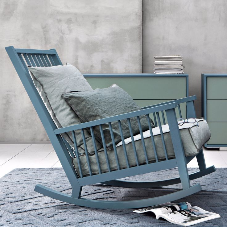 Rocking chair Gray 09 by Gervasoni | dieter horn