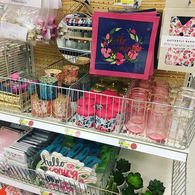The spring Target dollar spot items are beautiful!