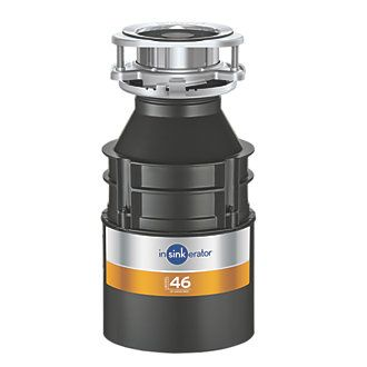 Order online at Screwfix.com. InSinkErator food waste disposer for most types of food waste. Induction motor for long, trouble-free operation. Easy installation with quick-lock mounting assembly. Suitable for light use in smaller households. FREE next day delivery available, free collection in 5 minutes.