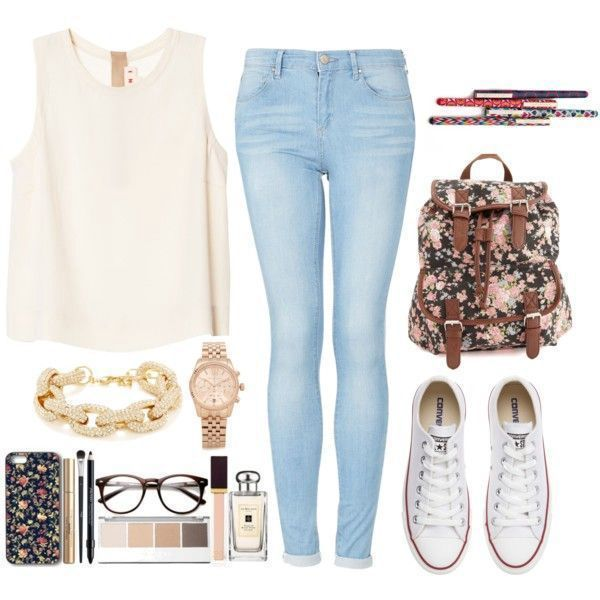 33 Awesomely Cute Back to School Outfits for High School